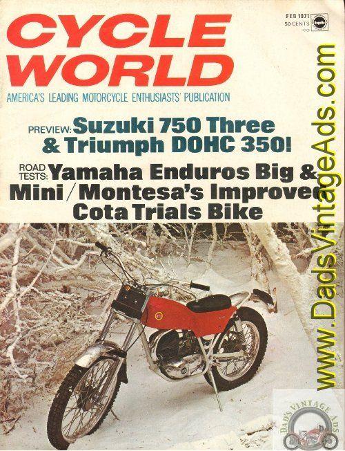 Image Result For 1971 Moto Guzzi Magazine Ads Moto Guzzi Trial