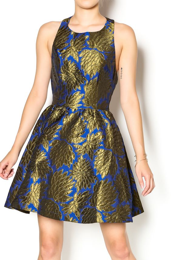 ark and co Flared Dress