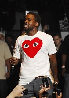 Kanye West in Play by Comme Des Garcons | GarmentQuarter