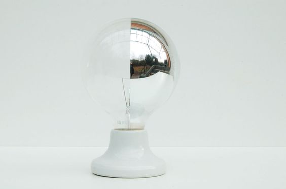 side mirror globe lamp