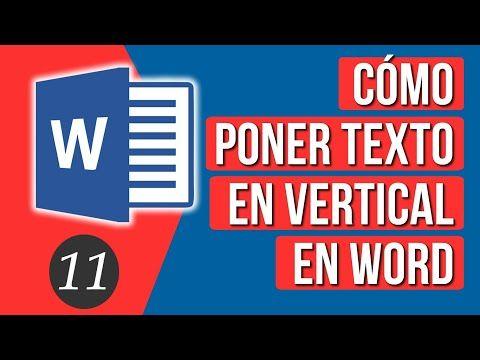 Como Escribir Texto En Vertical En Word Youtube Correccion De Ortografia Mapa Conceptual Curso De Ortografia