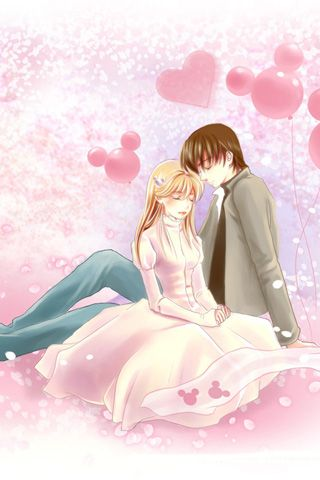 Sweet Love cartoon Wallpaper : cute couple cartoon wallpaper.jpg (320x480) cartoon love Pinterest cartoon, couple and ...