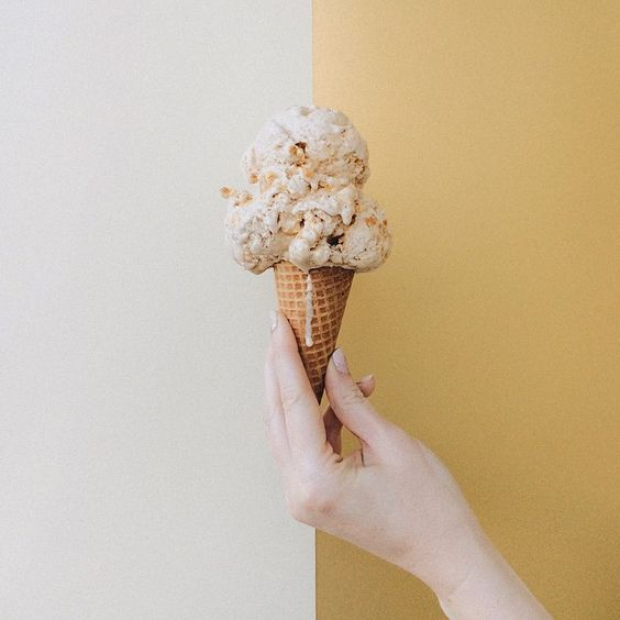 Molly Moon Ice Cream - Brown Butter Caramel Popcorn