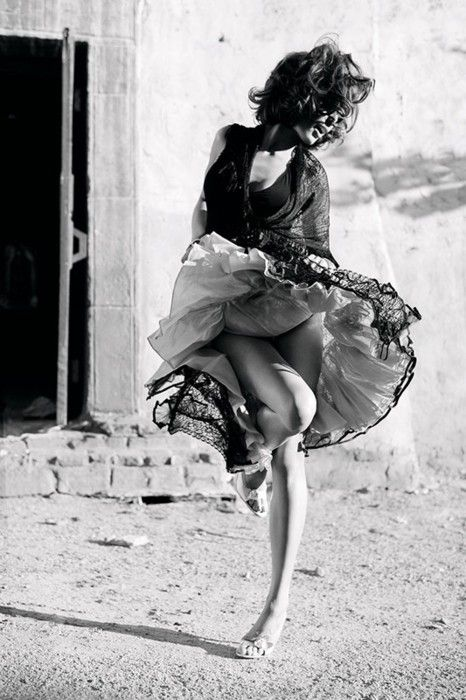 Dancing.  Love it.