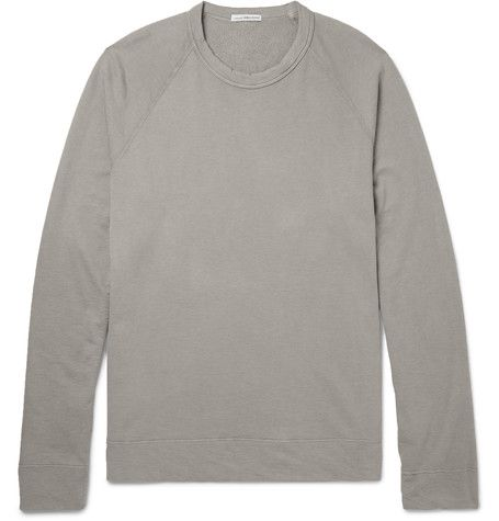 JAMES PERSE Loopback Supima Cotton-Jersey Sweatshirt. #jamesperse #cloth #sweats