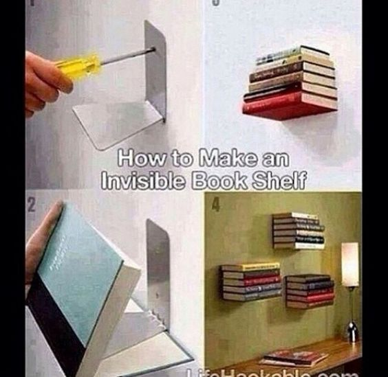 This bookshelf is awesome. I seriously need one of these