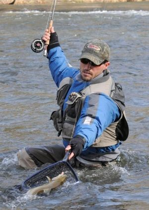 Western north carolina fly fishing and rainbow trout on for Fishing spots in nc