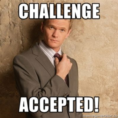 challenge accepted barney stinson: