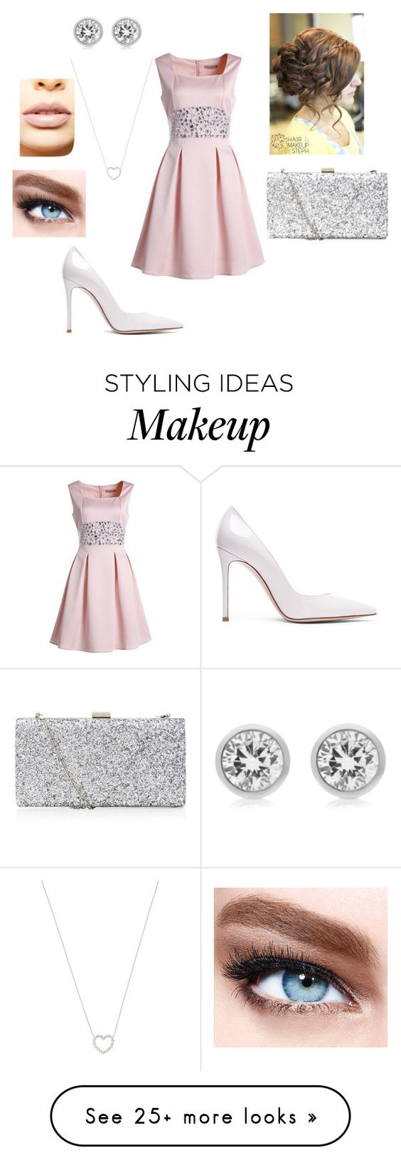 """Untitled #177"" by pieririvasmolina2000 on Polyvore featuring Gianvito Rossi, Tiffany & Co., Michael Kors, Maybelline and LASplash"