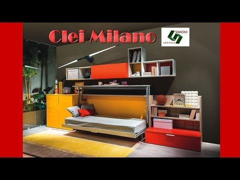 Letti A Castello Milano.Clei Milano Simoni Arreda Youtube Letti A Castello A