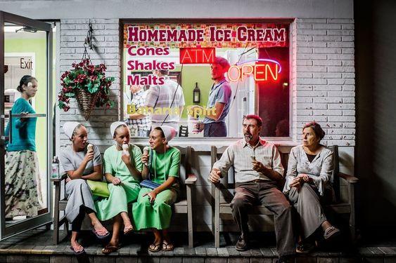 Amish community holidays in Pinecraft, Florida, photographs by Dina Litovsky
