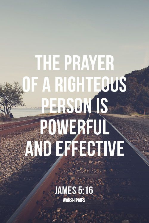 The prayer of a righteous Follow us at http://gplus.to/iBibleverses