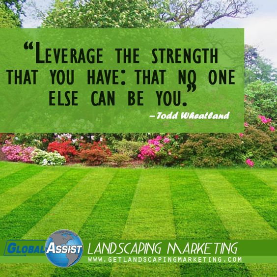 Landscaping, Marketing plan and Business on Pinterest