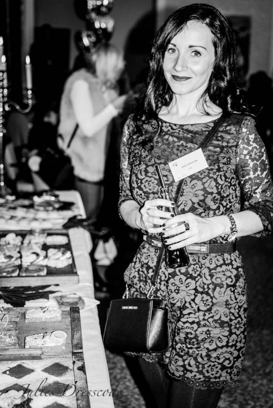 Me and my beloved lace jumpsuit at the Fashion Blogger Café Berlin  http://juliesdresscode.de