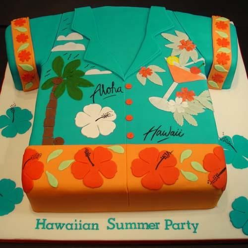 Happy Birthday Cake Hawaii  Crown