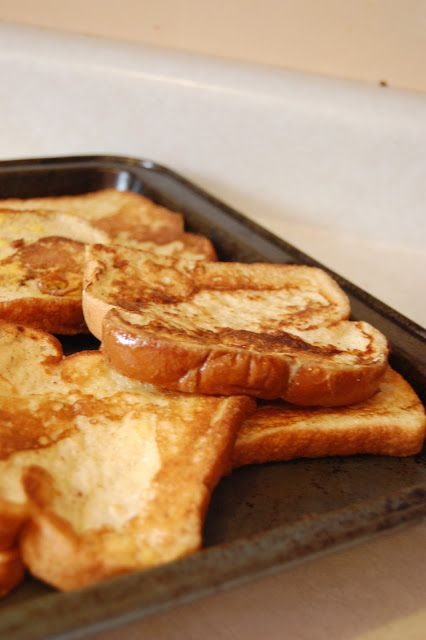 Easy French Toast • Table for Seven