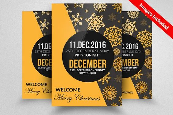 merry-christmas-flyer-template-psd 15+ Christmas Flyer Template - christmas flyer template
