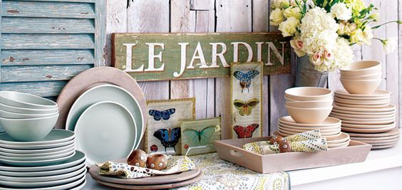 Fresh Fare Dinnerware from our Early Bloomers Collection at Cost Plus World Market