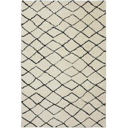 Better Homes and Gardens Moroccan Cream Woven Area Rug 8 x 10