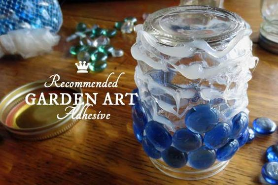Recommended Adhesive for Garden Art Projects