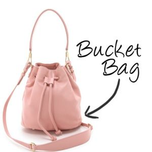 The Bucket Bag | 12 Spring Fashion Essentials via {LATEST WRINKLE} #Bags #Fashion #Style #Purses #Shoulderbag #Spring