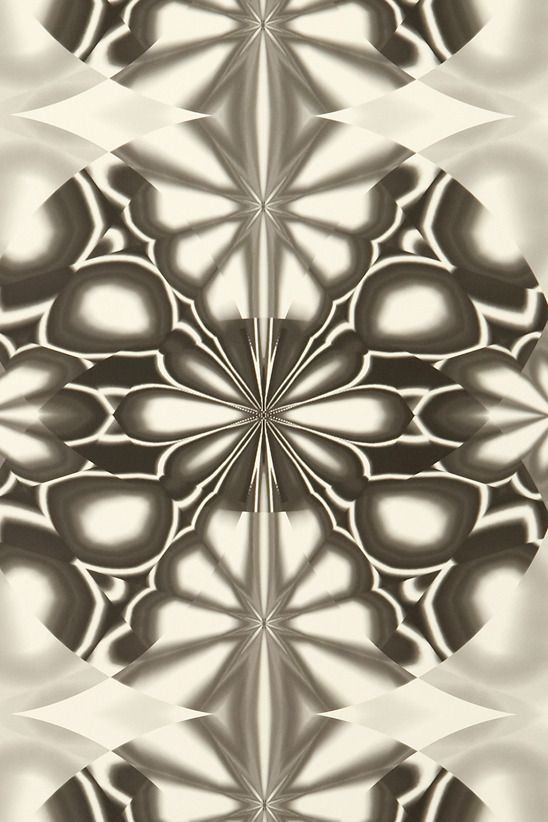 Image of Wallpaper - Kaleido - Black