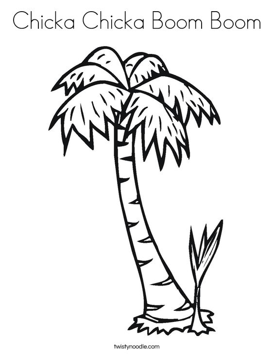 Trees Coloring pages and Tree templates on Pinterest
