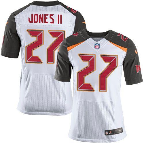 Nike Buccaneers 27 Ronald Jones Ii White Men S Stitched Nfl New Elite Jersey Nike Nfl Nfl Jerseys Jersey
