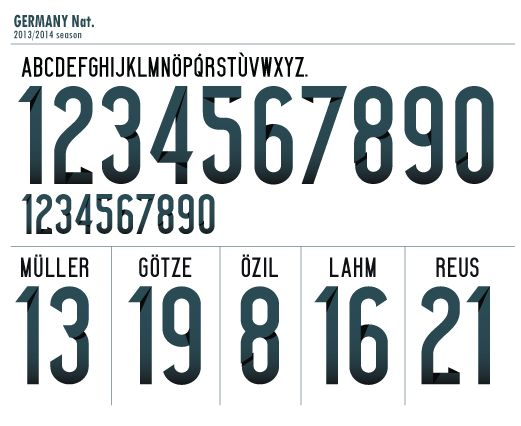 adidas germany font