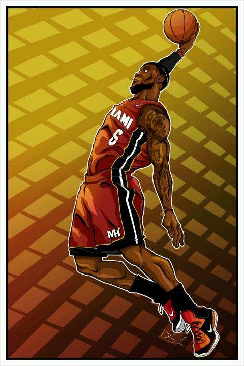 LeBron James. Photoshop. 2013.David Salinas