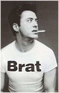 Robert Downey Jr. brat