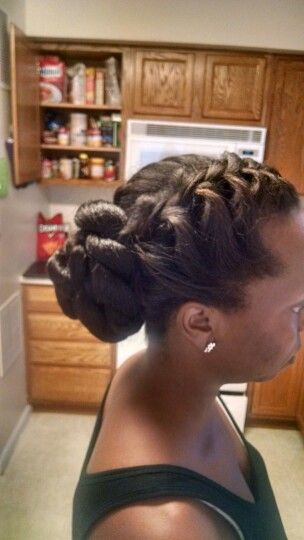 My hair: