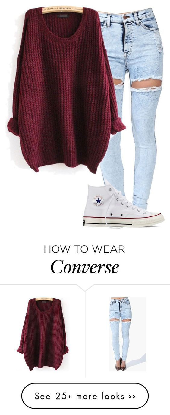 """""""Unbenannt #3039"""" by summerlove1d on Polyvore featuring Converse:"""