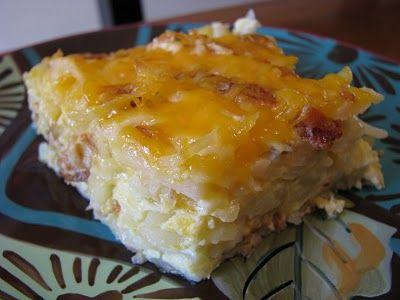 Hashbrown Egg Breakfast Casserole