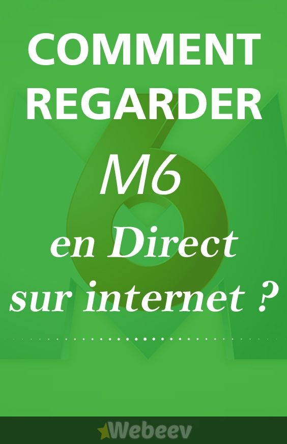 Comment regarder M6 en direct sur internet ? #Streaming #TV #Live #M6 #Replay