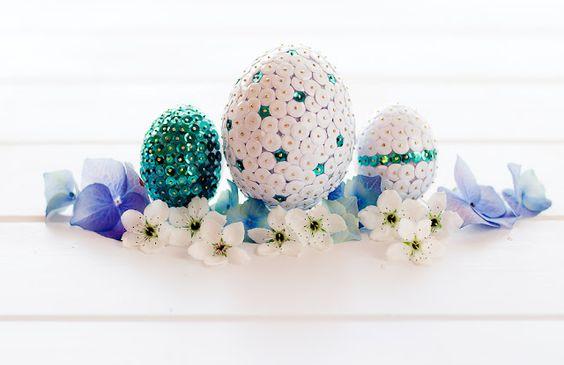 Lulu's Sweet Secrets: Sequin and Glittered Eggs