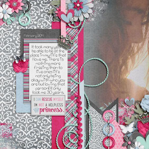 credits: Self-Rescuing Princess by Bella Gypsy Designs  and  Fuss Free: Self-Rescuing Princess 2 by Fiddle-Dee-Dee Designs