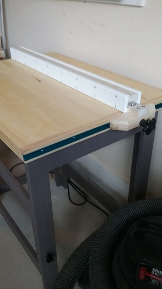 Universal T Track Table Saw Fence Homemade Router Table T Track