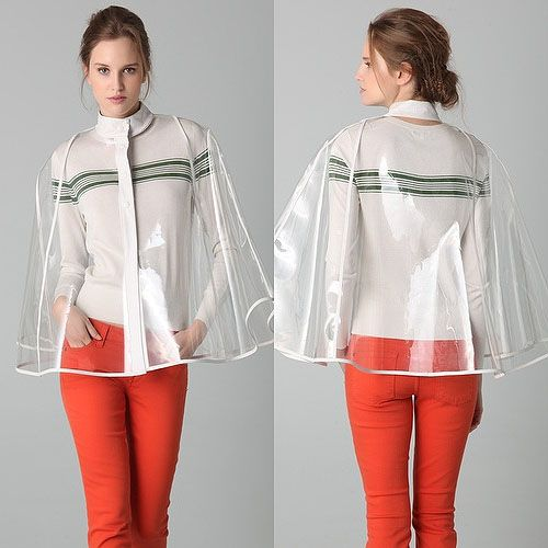 Would You Wear a Clear Raincoat?