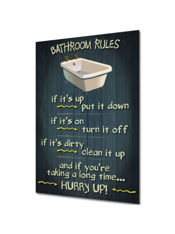 Pinterest the world s catalog of ideas for Bathroom signs for cleanliness