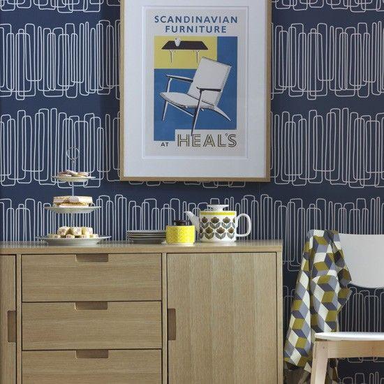 Retro living room sideboard | Living room designs | housetohome.co.uk