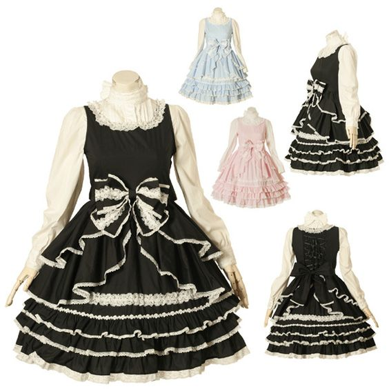 lace, bows, frills!!! #bodyline