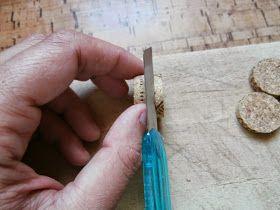 Cómo hacer lonchas de tapones de corcho  Me encanta la filosofía de las 3R: reducir, reutilizar y reciclar  (esta última a veces se confund...