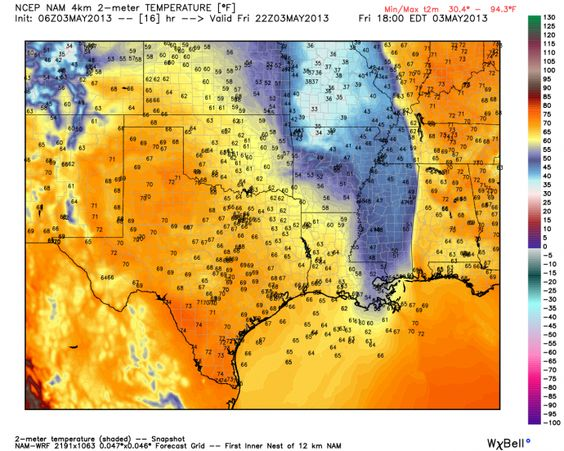 All-Time Record Breaking Lows This Morning - http://www.texasstormchasers.com/2013/05/03/all-time-record-breaking-lows-this-morning/