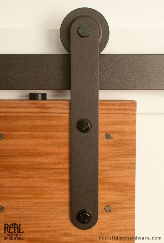 Prop barn door hardware flats track and barns for Hardware for sliding barn doors flat track