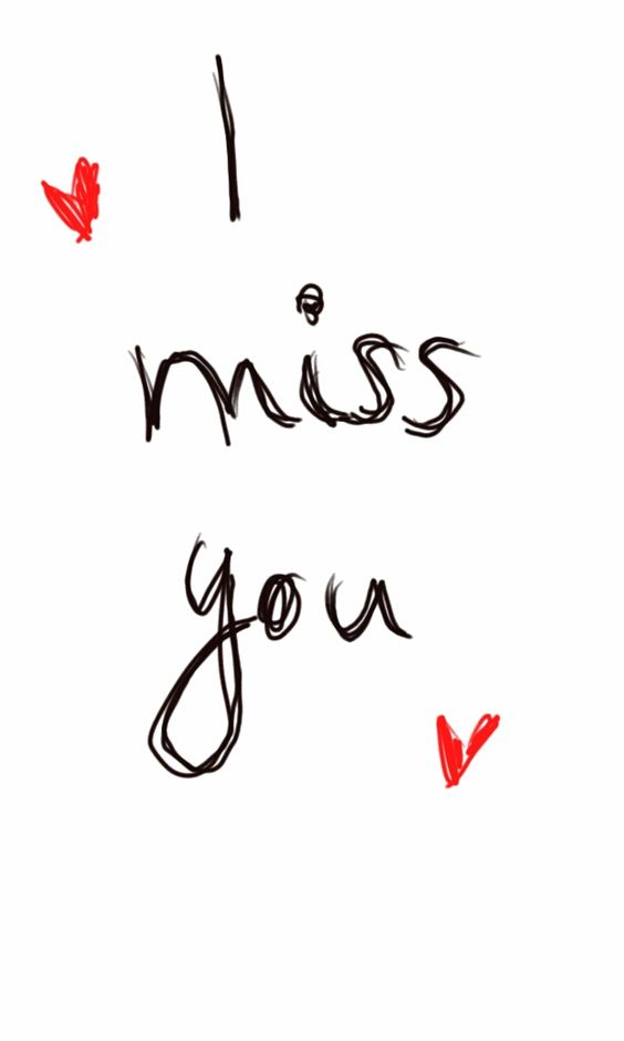 Goodness. I miss your sweet good morning IMs and your that ...