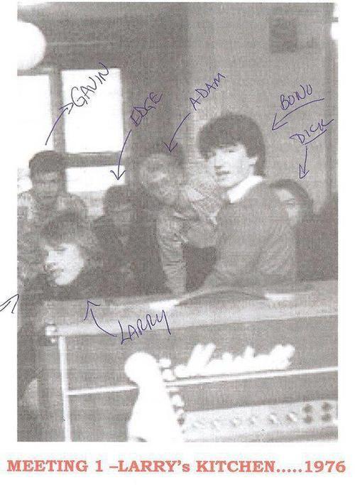 U2, 1976 #u2NewsActualite #u2NewsActualitePinterest #bono #PaulHewson #new #news #actualite #TheEdge #DavidEvans #DaveEvans #AdamClayton #U2 #music #rock #picture #AdamClayton #LarryMullenJr #LarryMullen #irish #Ireland #dublin the-angel-of-harl...
