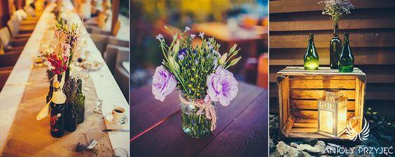 3. Lavender Wedding,Rustic decor,Table decor / Wesele lawendowe,Rustykalne dekoracje,Dekoracja stołu,Anioły Przyjęć