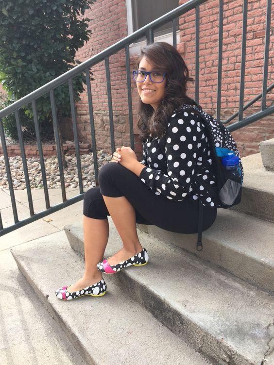 Fashion art, The dot and Crocs on Pinterest