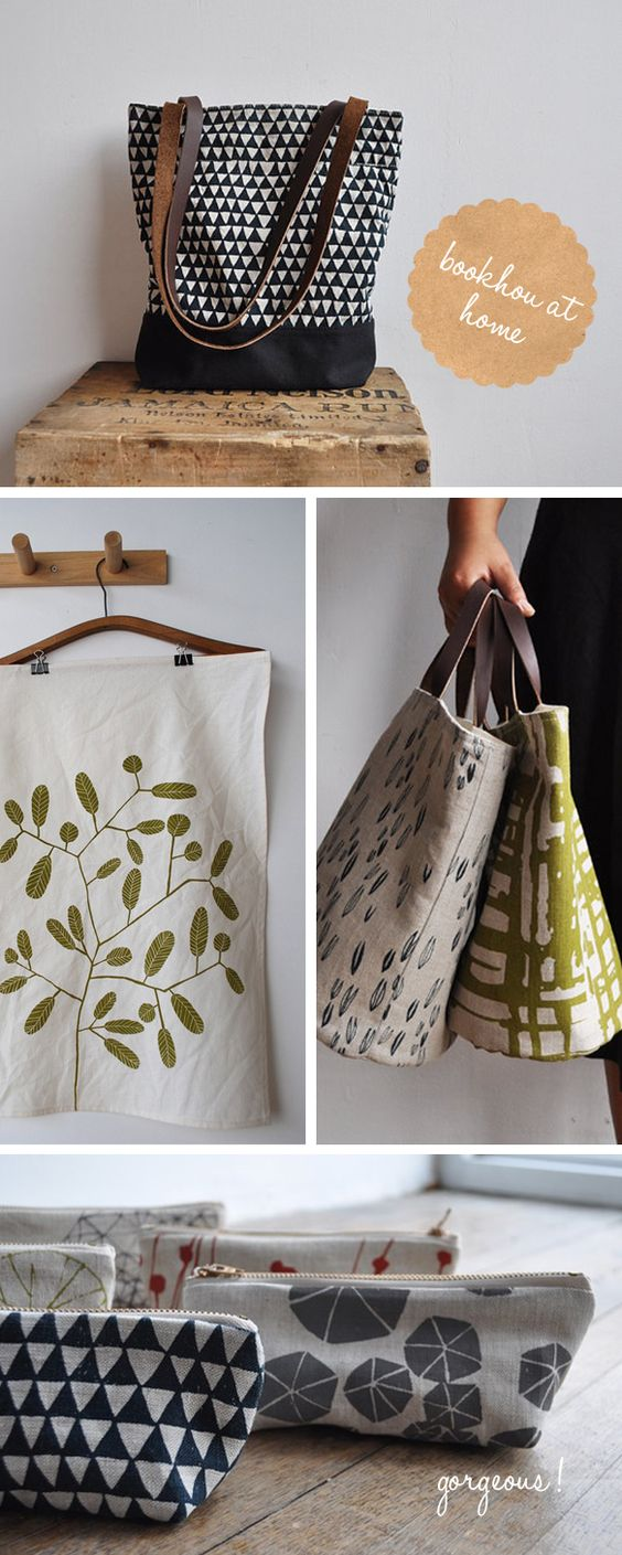 And what's not to love?! My favourite would have to be the top triangle print bag :) All these beauties can be purchased right here, and their blog can be found here.